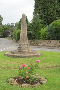 Stone cross in Harlaxton