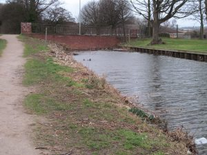 The end of the canal
