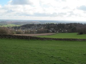 The  view from Broombriggs Hill