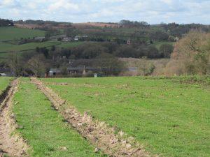 Descending to Lubcloud Farm