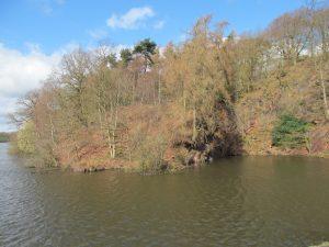 The Reservoir. Still sunny...