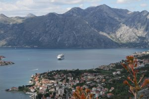 The Ventura in Kotor Bay
