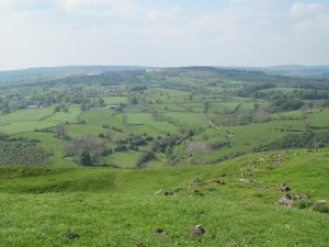 The view from Ecton Hill