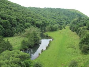 The valley from Monsal Viaduct
