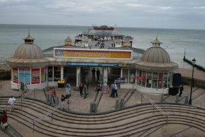 Cromer Pier- the end of the road!