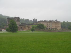 Chatsworth House- these photos are not going to be the best quality today!