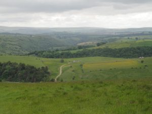 The view from Longstone Moor
