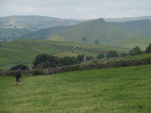 Views towards Chrome Hill