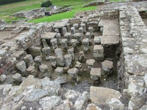 Underfloor heating system- these Romans were really ahead of their time!