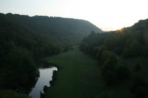 The view from Monsal Viaduct