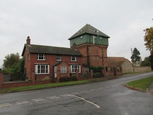 The water tower at Potterhanworth