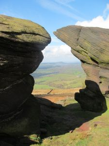 On top of The Roaches