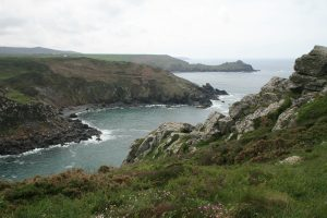 Lunch with a view at Zennor Head