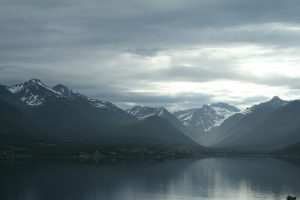 Approaching Andalsnes