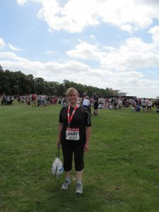 Me at the finish!!